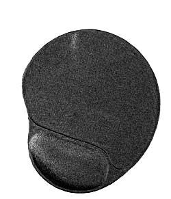 GEMBIRD Podložka pod myš ERGO gelová MAXI BLACK