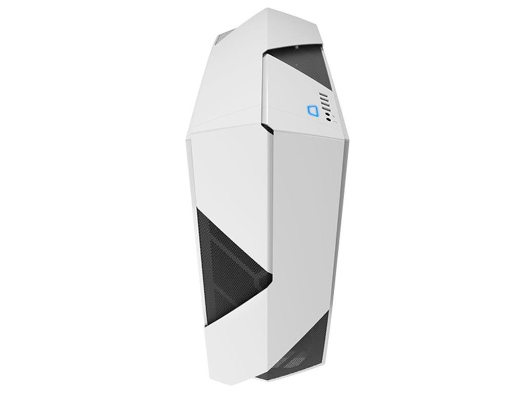 NZXT computer case Noctis 450 White, Blue Led