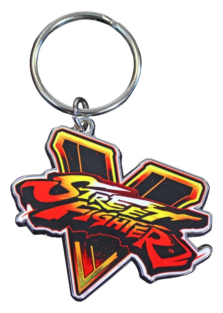 Klíčenka: Street Fighter V Emblem