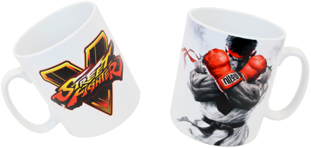 Hrnek: Street Fighter V