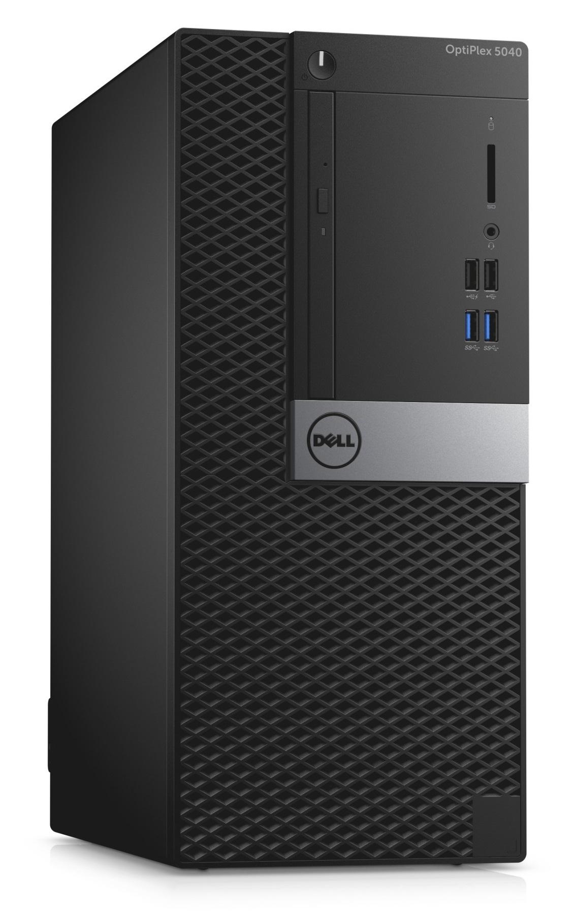 Dell Optiplex 5040M i3-6100/4G/500GB/HD/HDMI/DP/USB/RJ45/DVD-RW/W7P+W10P/3RNBD/Černý