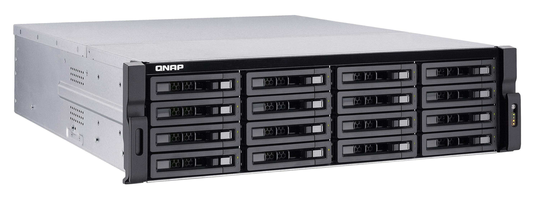 QNAP TS-EC1680U-E3-4GE-R2 (3.5GHz, 4GB RAM, 4x LAN, 1x HDMI, 2x 10G LAN, 16x SATA)
