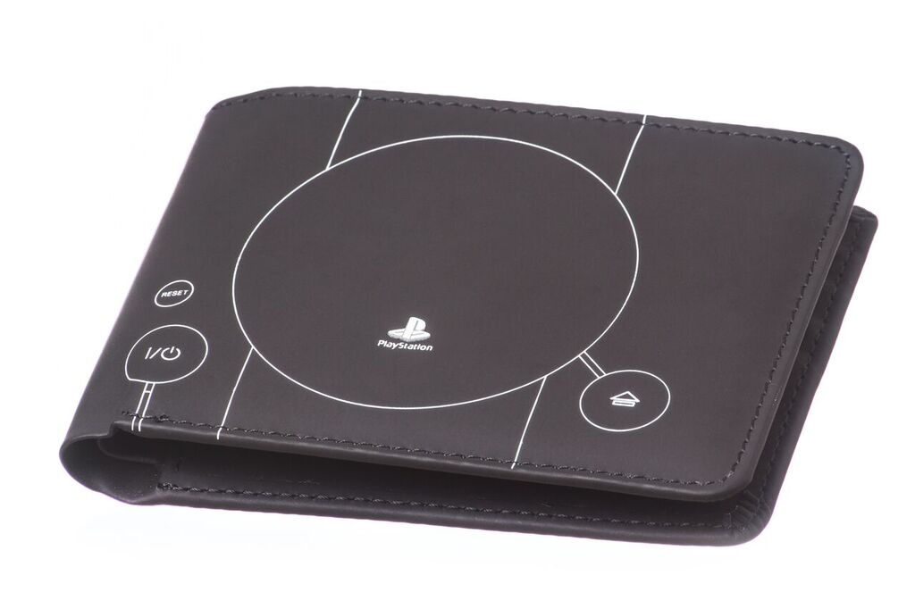 Peněženka: PlayStation 1 konzole - tmavá