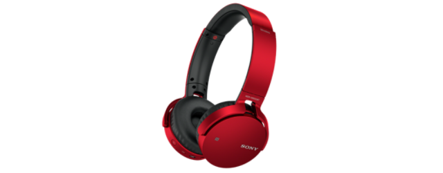 SONY MDR-XB650BT Sluchátka Bluetooth® EXTRA BASS - Red