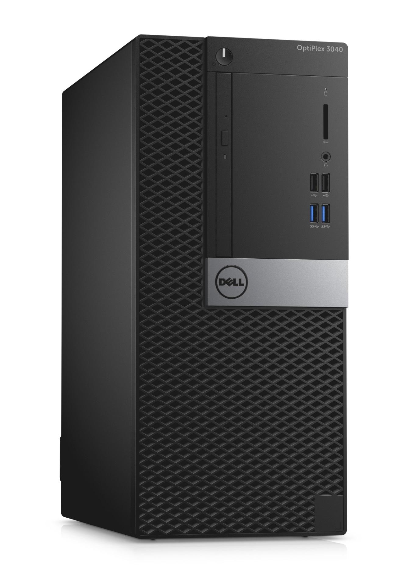 Dell Optiplex 3040M i5-6500/8GB/1TB/Intel HD/MCR/HDMI/DP/USB/RJ45/DVD-RW/W7P+W10P/3RNBD/Černý