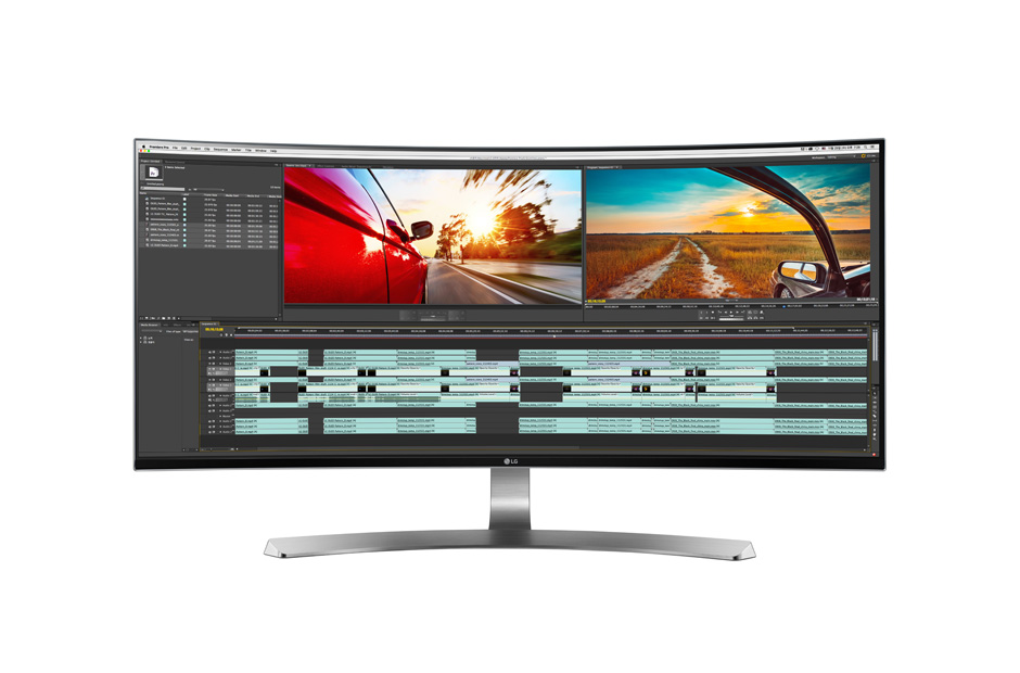 "LG 34UC98-W.AEU 34"" IPS UltraWide/21:9/QHD/3440x1440/5M:1/5 ms/300 cd/m2/Thunderbolt/HDMI/USB/Display port/Repro/WHITE"