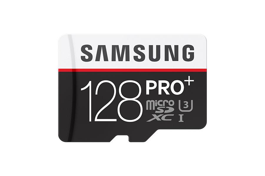 Micro SDHC 128GB Samsung Pro PLUS + adaptér