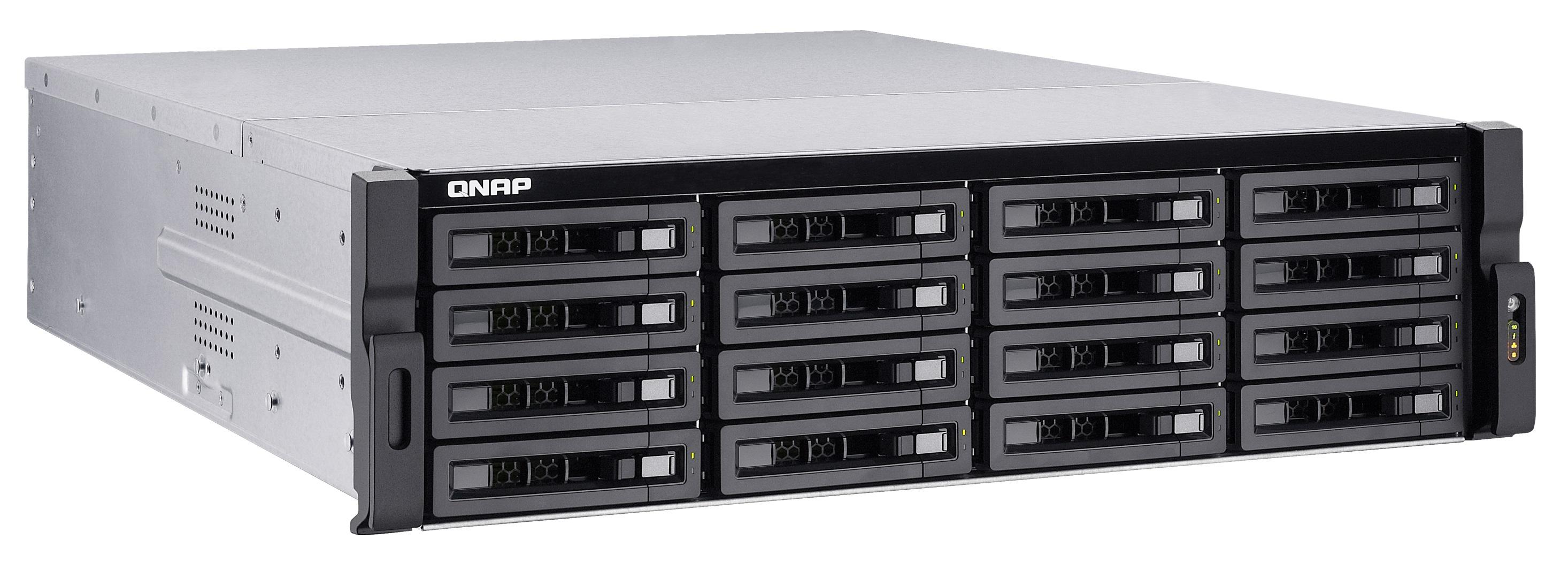 QNAP TVS-EC1680U-SAS-RP-16G-R2(3.5GHz, 16GB RAM, 1x HDMI, 4x LAN, 2x 10G LAN, 16x SATA)