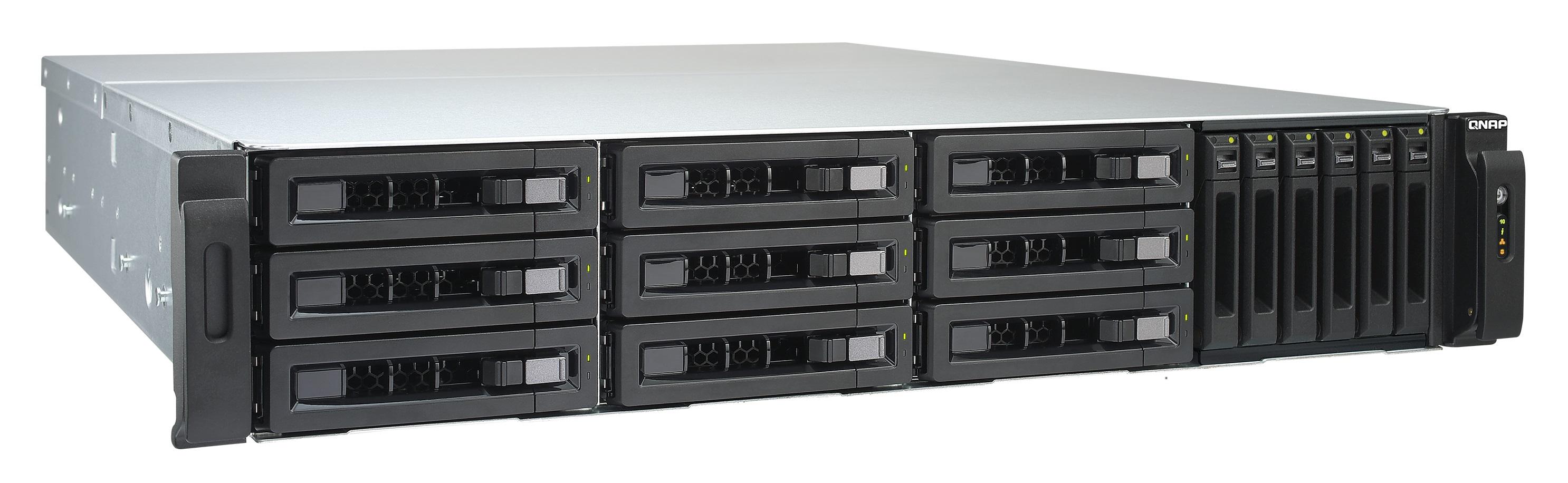 QNAP TVS-EC1580MU-SAS-RP-16G-R2 (3.5GHz, 16GB RAM, 1x HDMI, 4x LAN, 2x 10G LAN, 15x SATA)