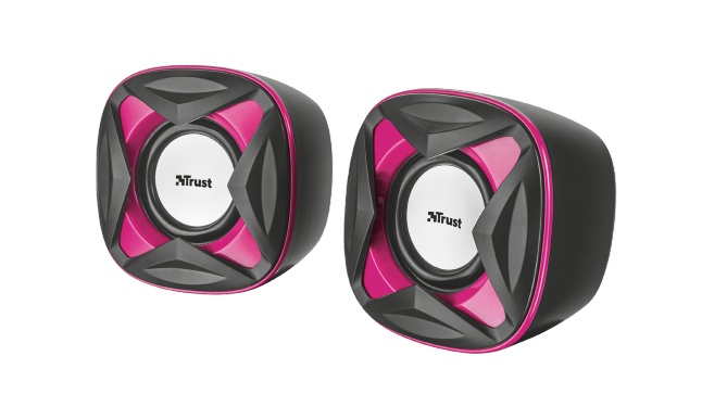 Trust Xilo Compact 2.0 reproduktory - růžové