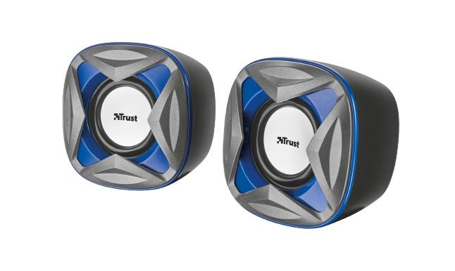 Trust Xilo Compact 2.0 reproduktory - modré