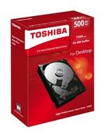 "TOSHIBA HDD P300 500GB, SATA III, 7200 rpm, 64MB cache, 3,5"""