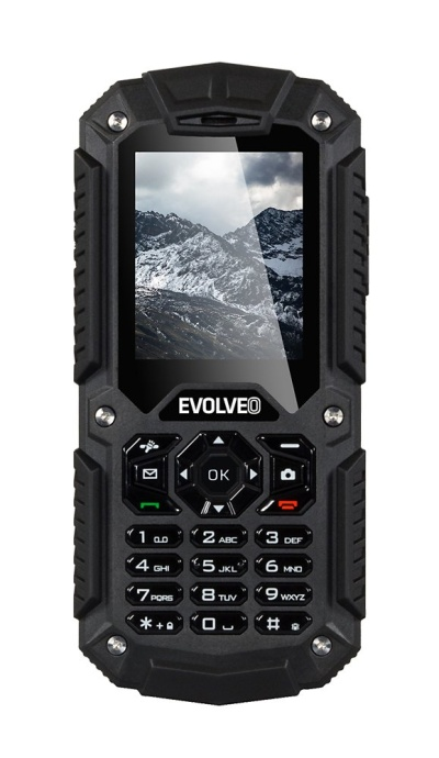 EVOLVEO StrongPhone X2, vodotěsný odolný Dual SIM telefon + DÁREK