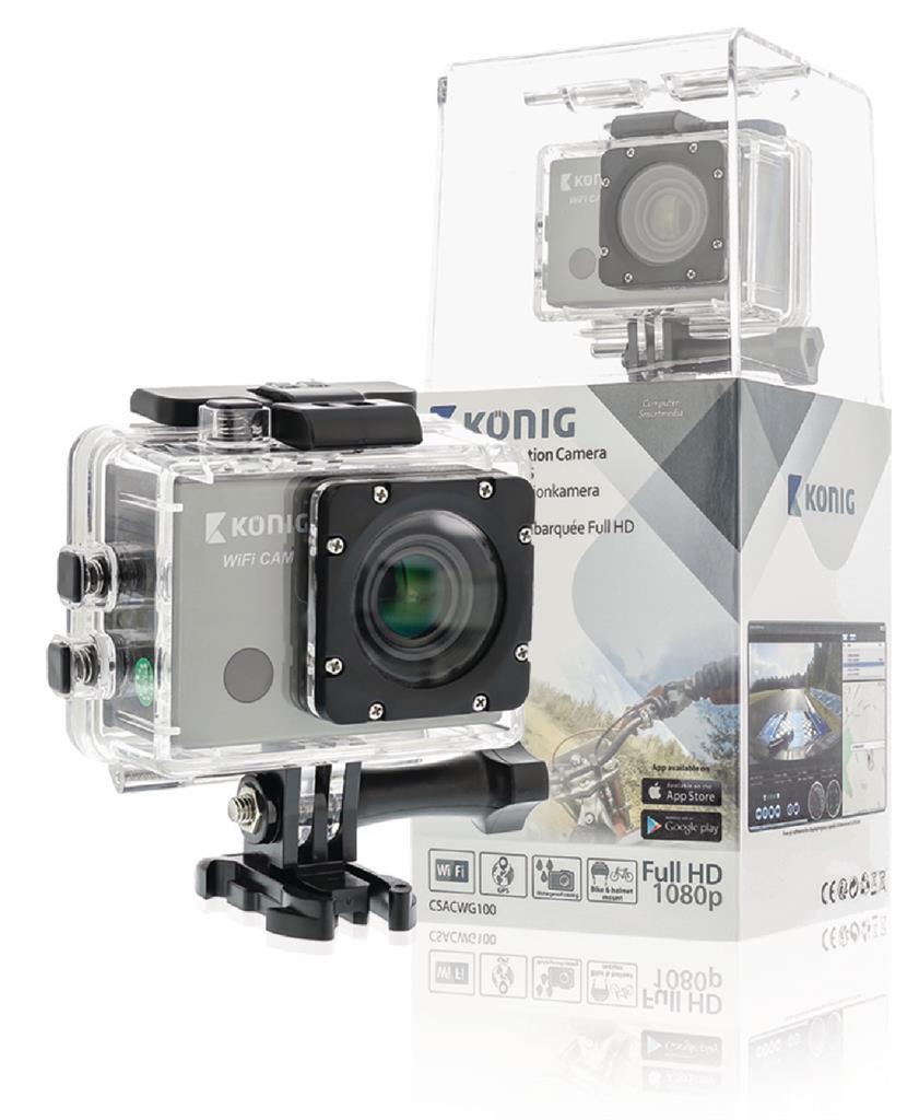 Koenig Akční Full HD kamera, GPS a Wi-Fi