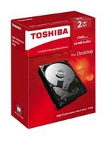 "TOSHIBA HDD P300 2TB, SATA III, 7200 rpm, 64MB cache, 3,5"""