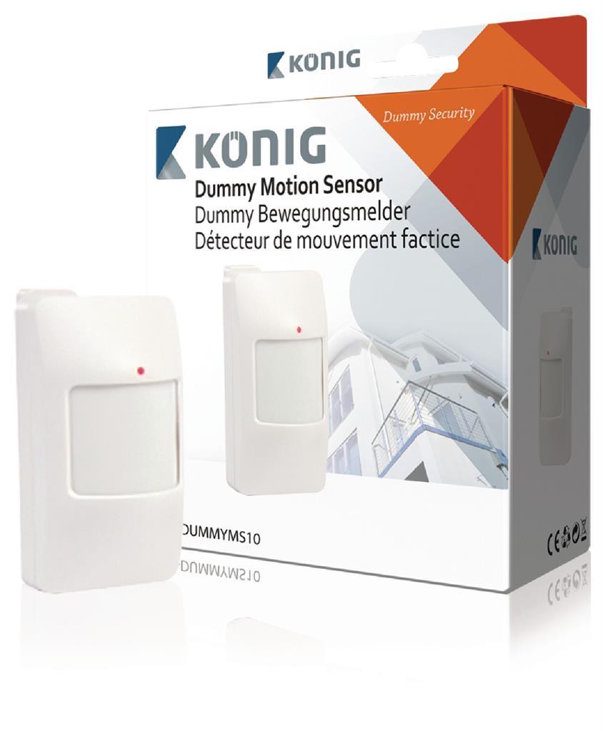 König atrapa poplachového systému s detektorem pohybu