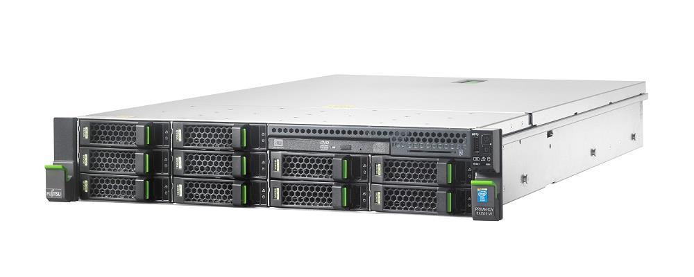 Primergy RX2520 M1 E5-2407v2(QC/2.4G/10M) 8GB 8x3.5 SATA/SAS RAID5/6 DVDRW 450W