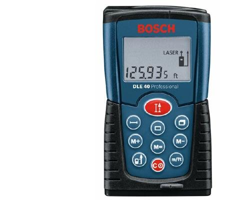 Měřič vzdálenosti Bosch DLE 40, laserový