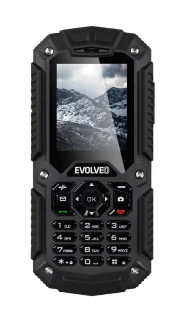 EVOLVEO StrongPhone X2, vodotěsný odolný Dual SIM telefon