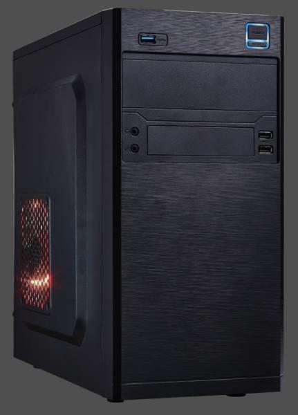 PC skříň Eurocase mATX MC X202 Mini Tower, bez zdroje (černá)