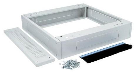 Podstavec pod rack 800x1000 s filtrem 1x šedý