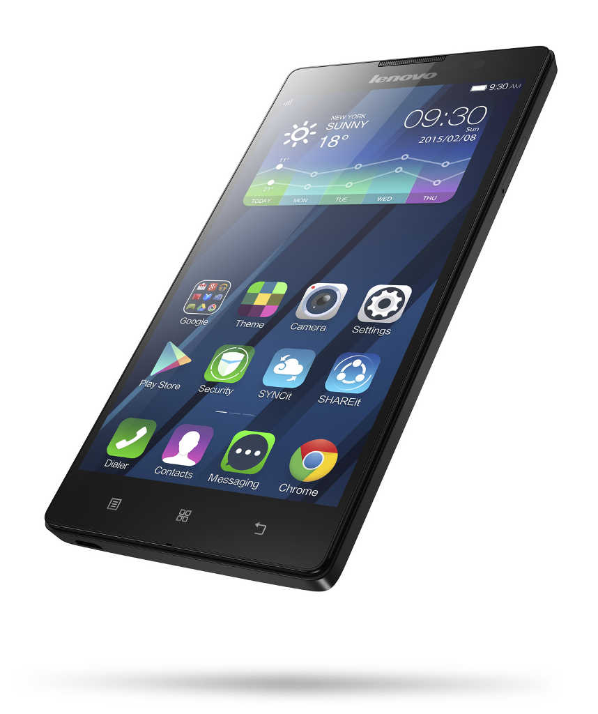 "Lenovo Smartphone P90 Single SIM/5,5"" IPS/1920x1080/Quad-Core/1,83GHz/4GB/64GB/13Mpx/LTE/Android 4.4/Black"
