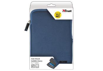 "TRUST Pouzdro na tablet 7"" Anti-shock bubble sleeve - blue, modré"