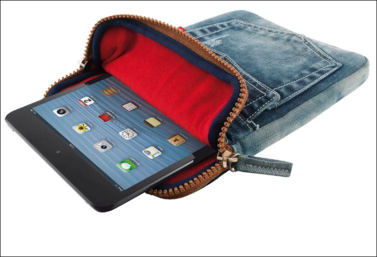 """TRUST Pouzdro na tablet 7-8"""" Universal Jeans Sleeve for tablets"""