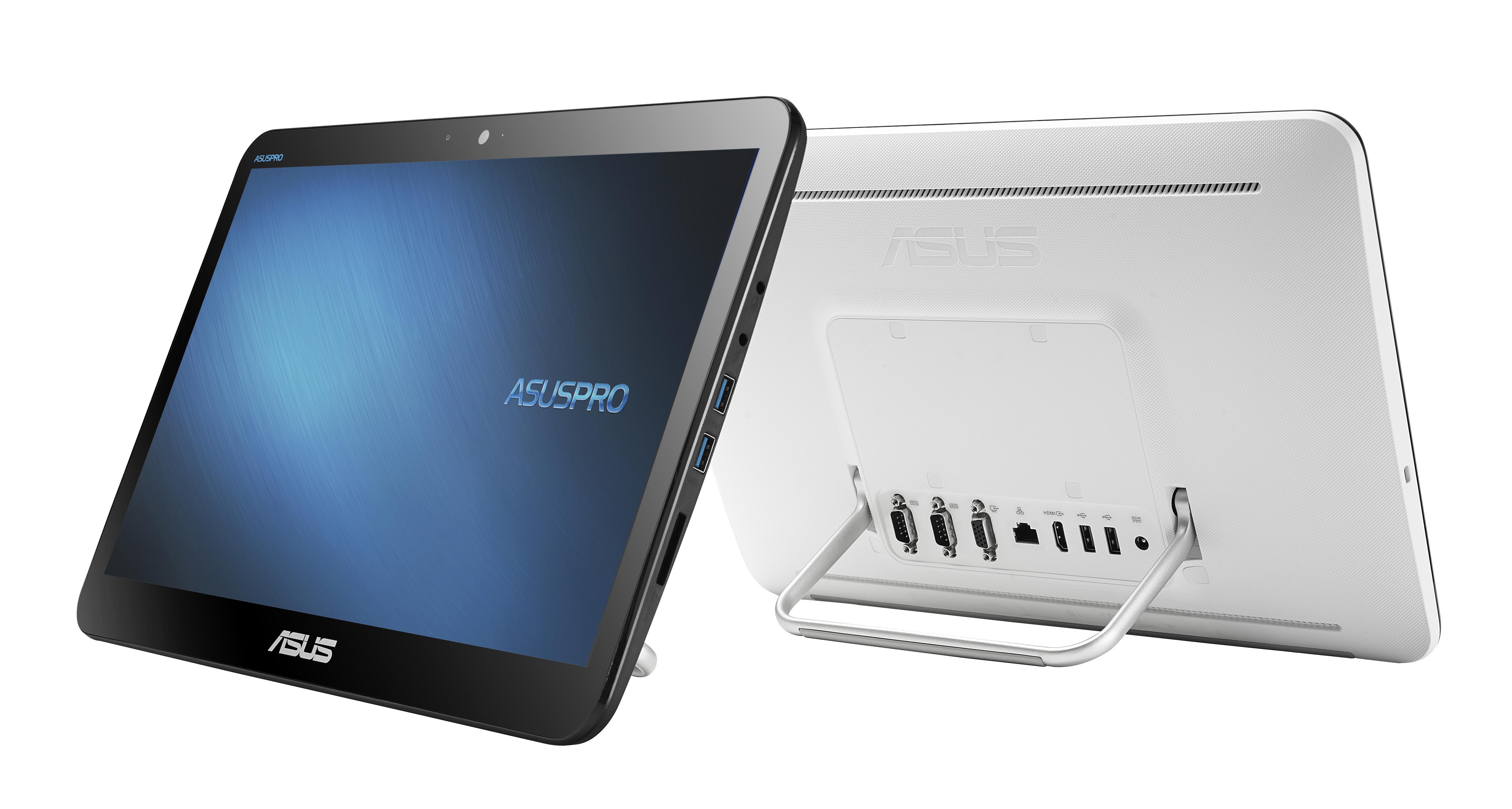 "ASUS AIO A4110-WD009M N3150/2GB/500GB HDD/15,6"" HD/multi-touch/no OS/white"