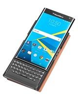 BlackBerry flipové pouzdro kožené Smart pro BlackBerry Priv, světle hnědá