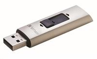 VERBATIM Flash Drive Store 'n' Go SSD Vx400 256GB USB 3.0, SIlver
