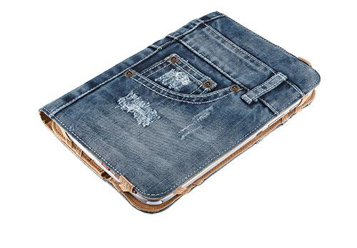 """TRUST Pouzdro na tablet 7-8"""" Universal Jeans Folio Stand for tablets"""