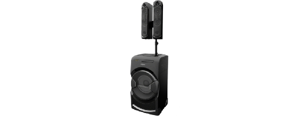 Sony Hi-Fi MHC-GT4D, USB,MP3,BT,NFC,CD, 1200W