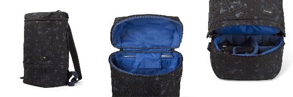 Crumpler Beehive - black/dk. blue