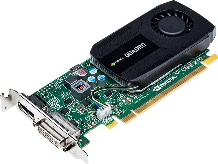 PNY NVIDIA Quadro K420, 2GB GDDR3 (128 Bit), DVI, DP, Low Profile