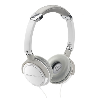ENERGY DJ 410 White, headset, Deep Bass Response, 108 dB, 3,5mm