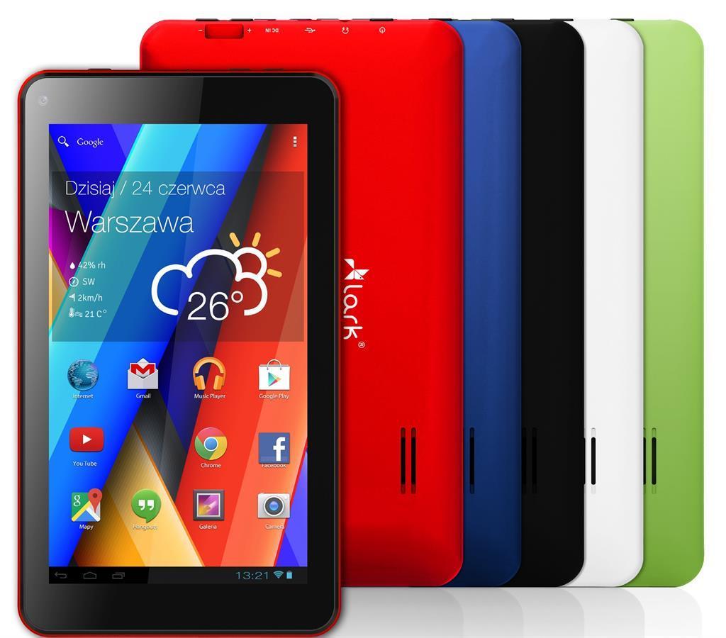 Lark FreeMe X4 9 Blue, 9'' TN, 1GHz, 8GB, 512MB RAM, Android 4.4, modrý