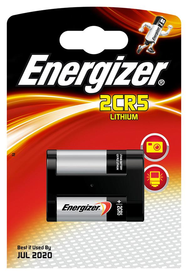 Baterie, ENERGIZER Photo Lithium, 2CR5, 6V