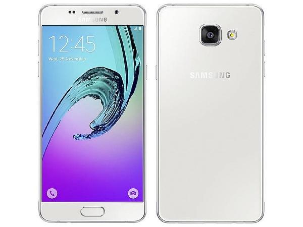 Samsung Galaxy A5 LTE (SM-A510F), bílá