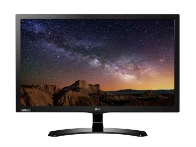 Monitor LG 24MT58DF-PZ 23.8'', IPS, Full HD, D-Sub/HDMI/USB, tuner TV, speakers