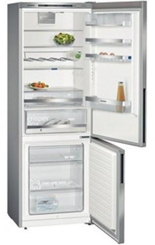 Kombinovaná chladnička Siemens KG49EBI40, iQ500, nerez
