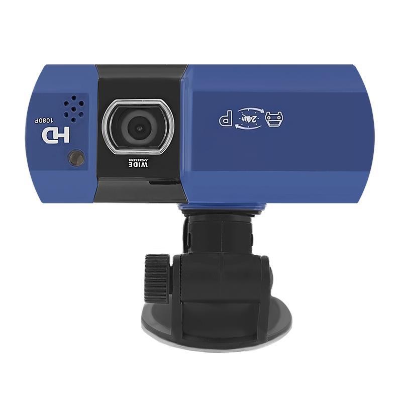 QOLTEC Car Recorder Full HD, LCD 2.7''   blue