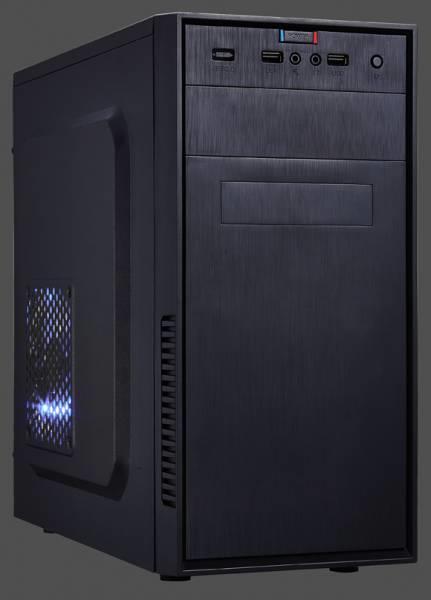 PC skříň Eurocase mATX MC X201 Micro Tower, bez zdroje (černá)