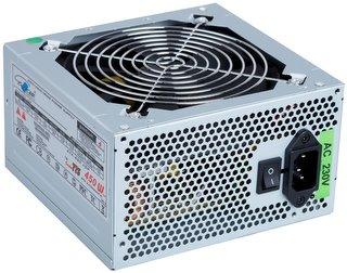 Zdroj Eurocase EC 450W, PFC, 12cm ventilátor, bulk