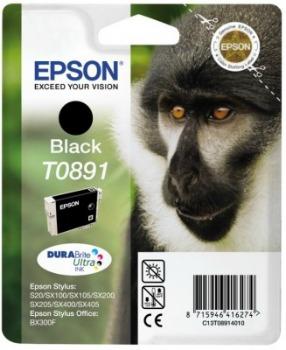 Inkoust Epson T0891 black DURABrite | 5.8ml | Stylus S20/SX100/SX105/SX200/SX205