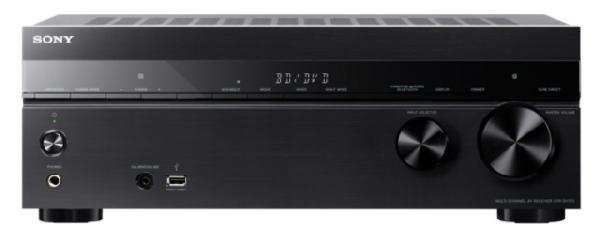 Sony receiver STR-DH770 černý, 4K, 7.2