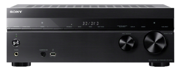 SONY STR-DN1070 7.2k přijímač AV s rozlišením 4K Ultra HD a zvukem s vysokým rozlišením