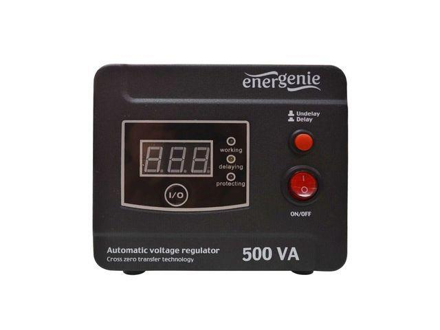 Energenie Automatic AC voltage regulator and stabilizer, LED, 220V AC, 500 VA