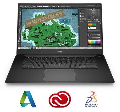 "Dell Precision 5510 15"" UHD Touch i7-6820HQ/16G/256SSD/M1000M/MCR/HDMI/USB/W7P+W10P/3RNBD/Stříbrný"