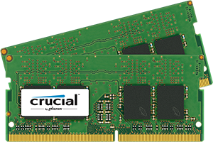 SO-DIMM kit 32GB DDR4 - 2133 MHz Crucial CL15 DR x8, 2x16GB
